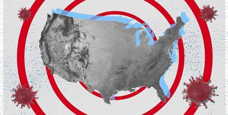 23 هزار مبتلا و 1000 فوتی؛ آمار کرونا در آمریکا طی بیست وچهار ساعت گذشته